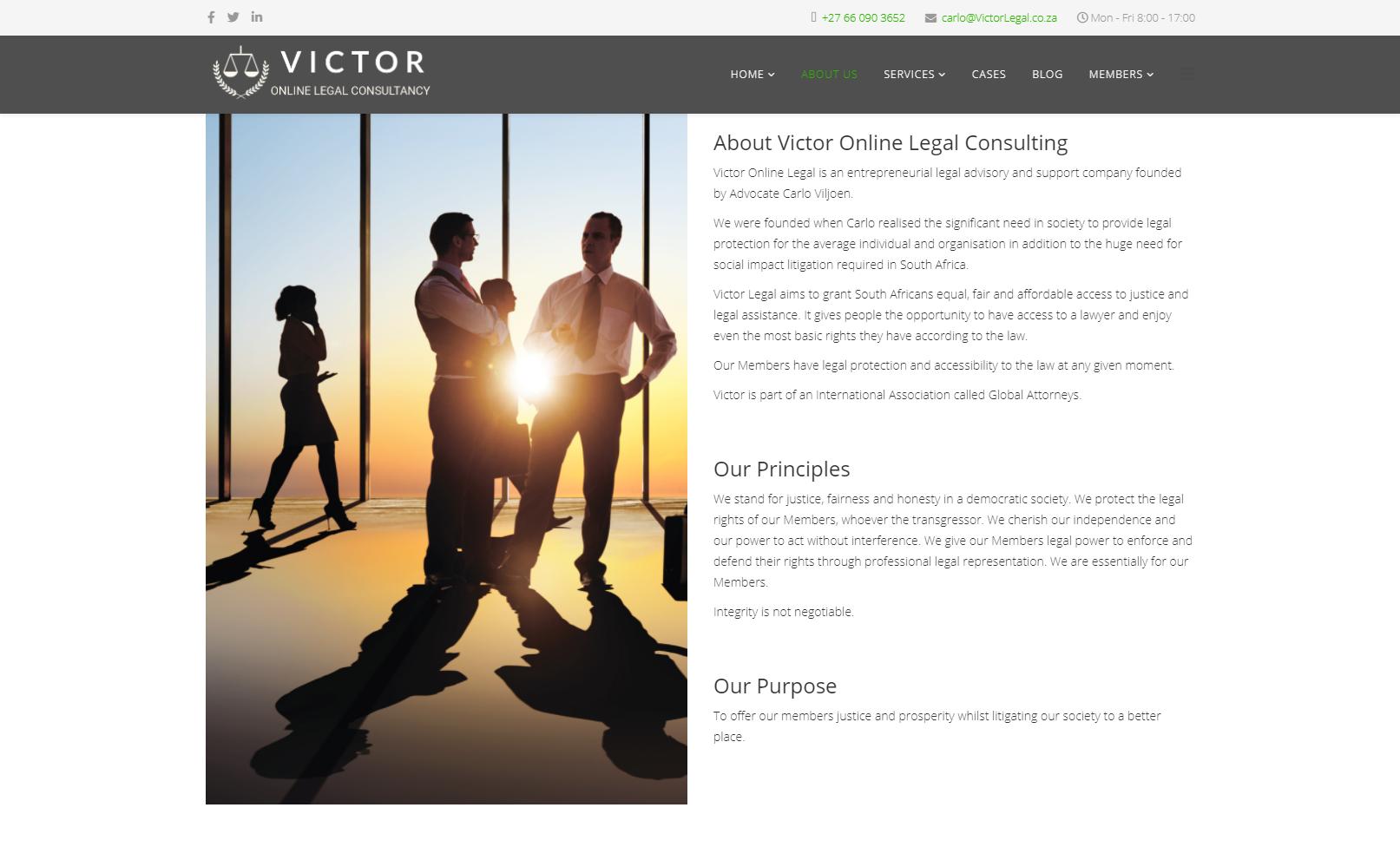 VictorLegal.co.za